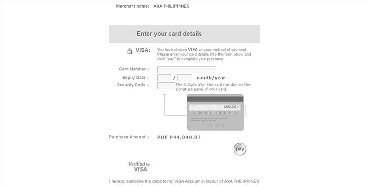 MyAXA Portal Pay Online