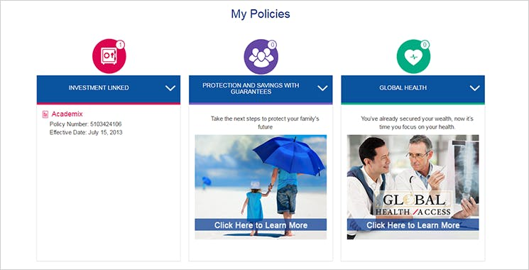 MyAXA Portal View Policy