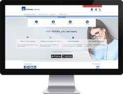 MyAXA Web FAQ