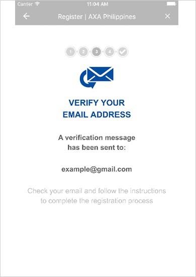 MyAXA App Register