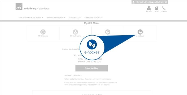 MyAXA Portal View Policy Statement