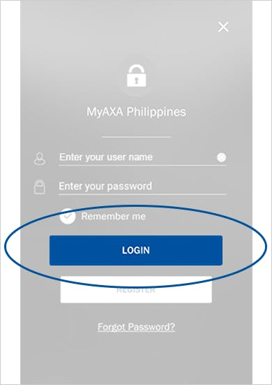 MyAXA App View Policy