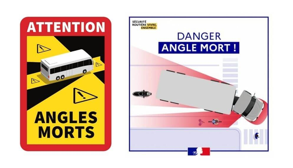 Angle mort : un autocollant obligatoire sur les poids-lourds