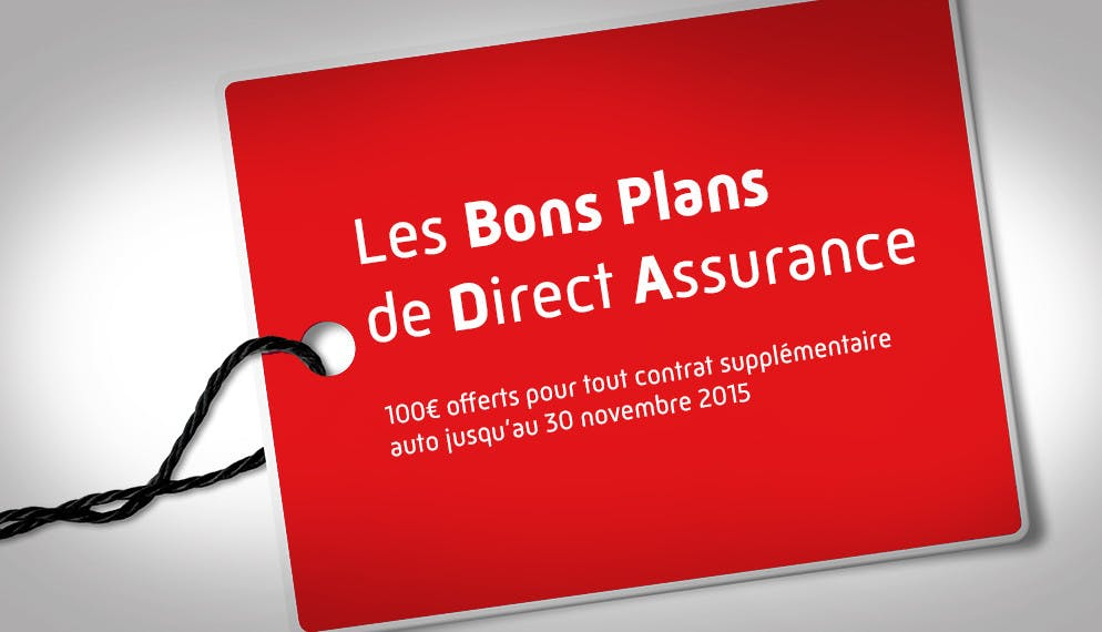 Les bons plans Direct Assurance