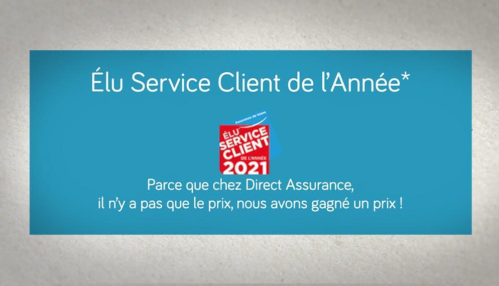 logo trophée élu service client de l'année 2021