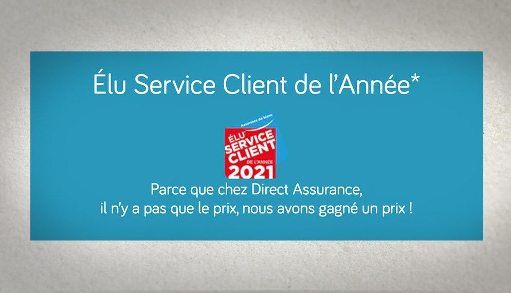 Direct Assurance « Élu Service Client de l'Année »* pour la 2è année consécutive : les raisons du succès