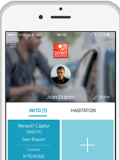 Direct Assurance - Application Mobile  - Contrats