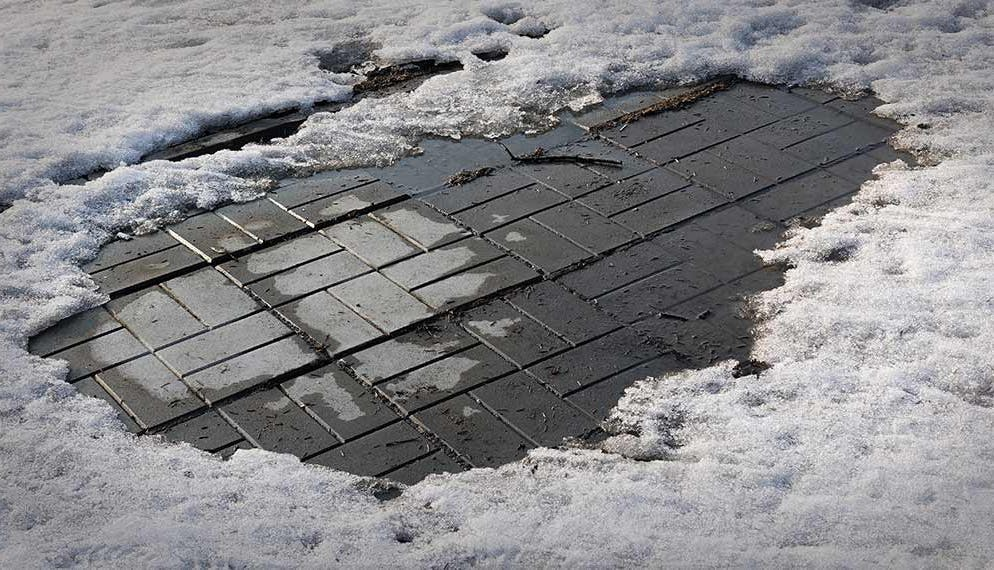 neige verglas trottoir