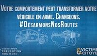 visuel slogan campagne Prévention Routière et Victimes & Citoyens janvier 2021