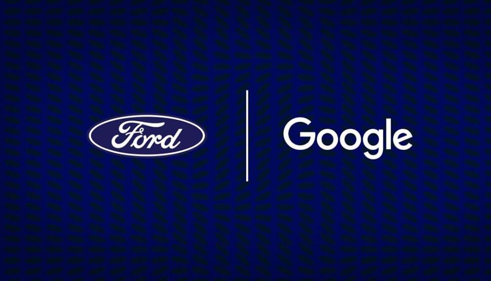 les logos des marques Google et Ford