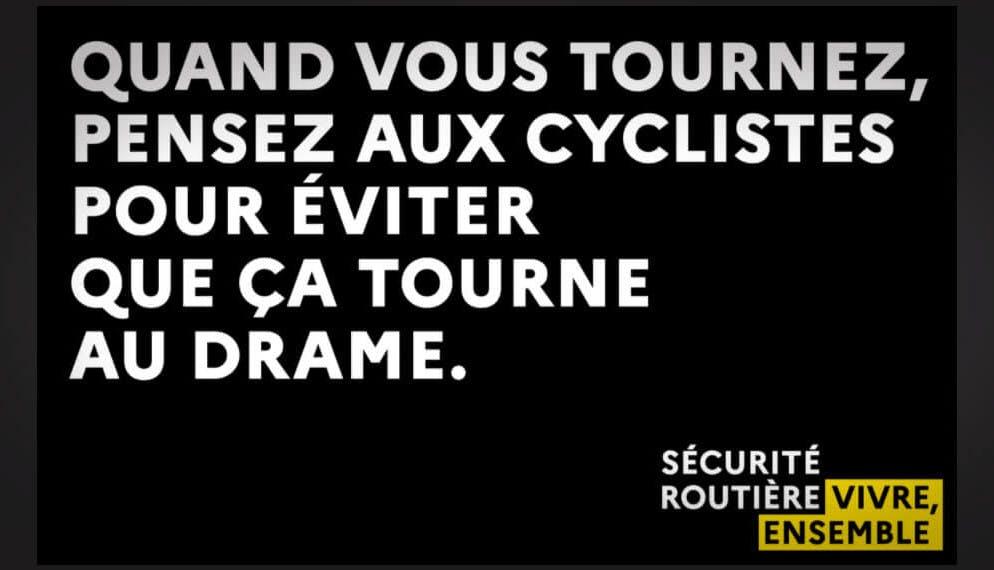 « Attention à vélo, attention aux vélos » : première campagne de la Sécurité routière pour protéger les cyclistes