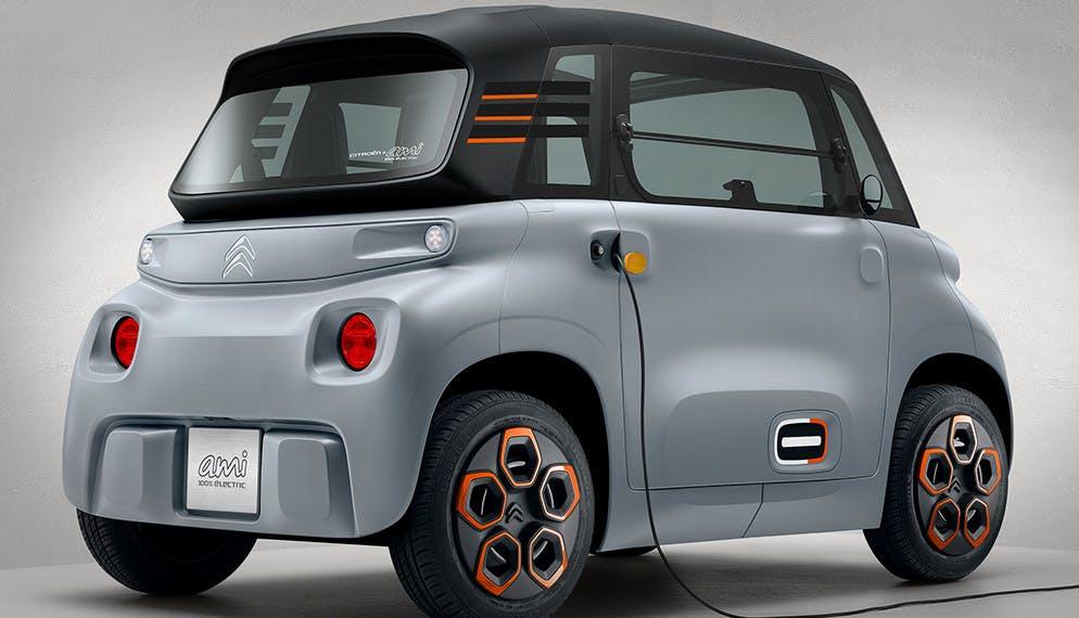 Nouvelle gamme Citroen Ami : nouvelle génération de voiture électrique