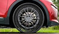 Michelin invente un pneu sans air increvable
