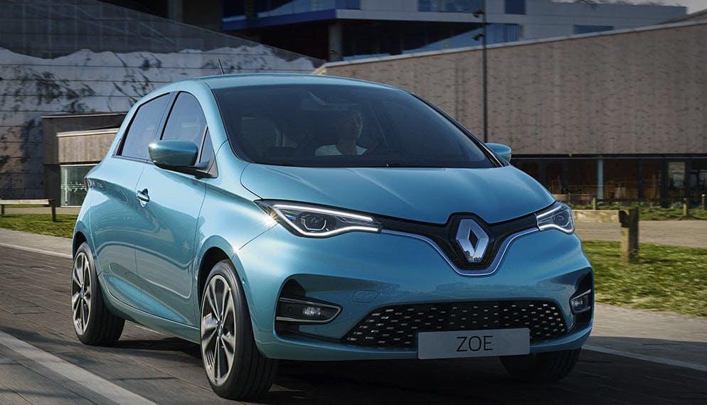 voiture électrique Renault Zoé