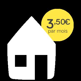 Assurance Habitation - pack sécurité - 3,50€ par mois