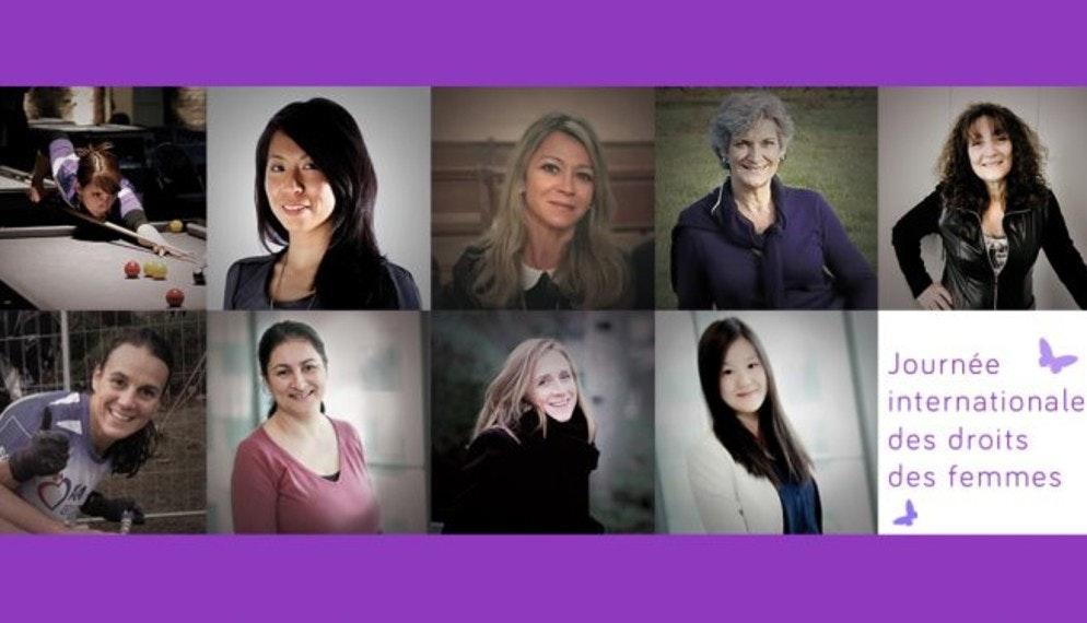 Portraits de femmes, le 8 mars 2017