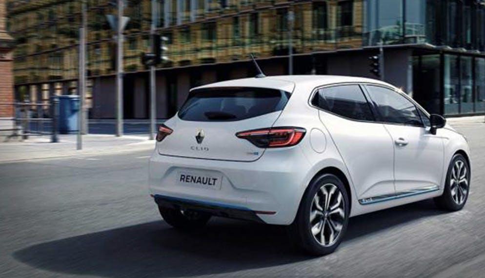 Renault Clio blanche