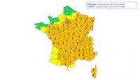 78 départements en vigilance à la canicule : record historique