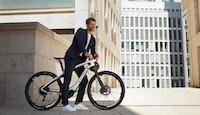 vélo électrique porsche ville homme