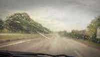 Pluie au volant : attention danger