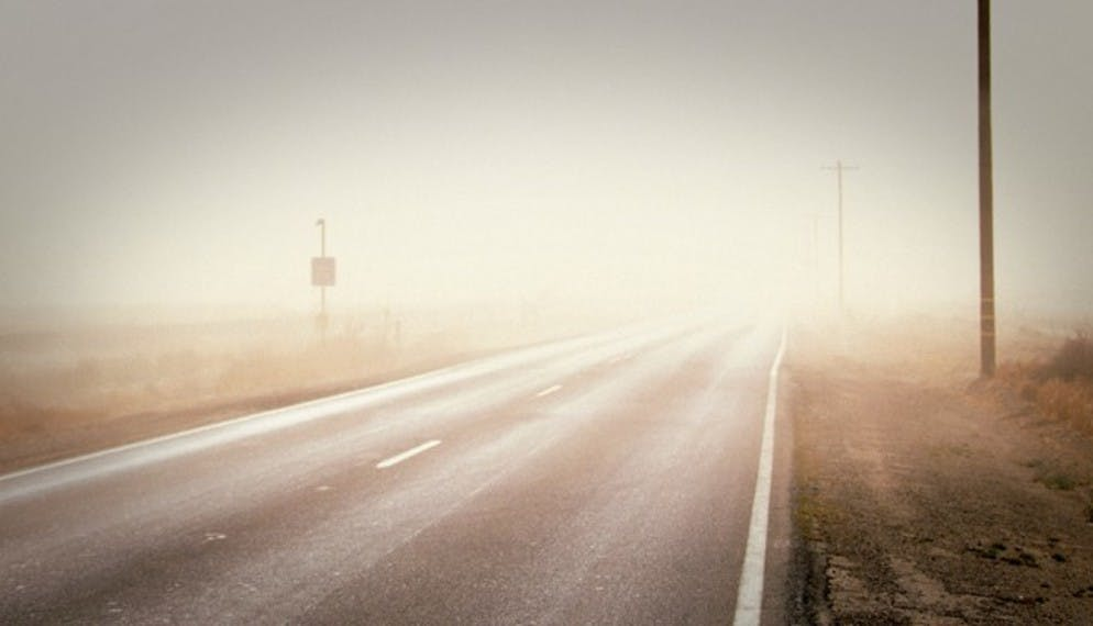 Les dangers du brouillard