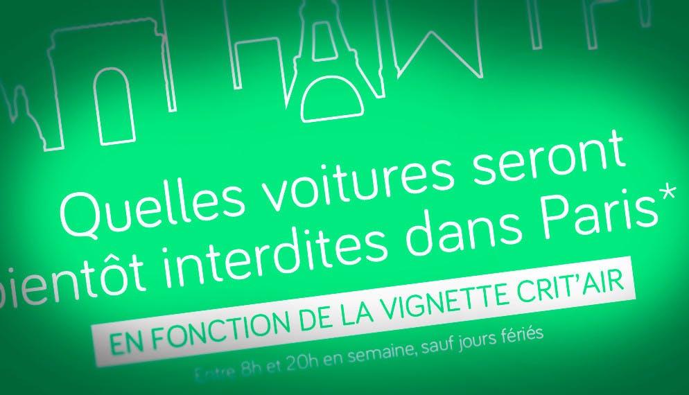 « Libérer » Paris et sa banlieue de la pollution automobile