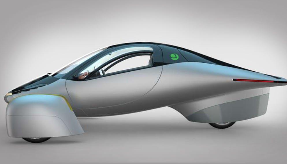 prototype voiture 3 roues aptera