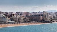 front de mer immeubles maisons Biarritz