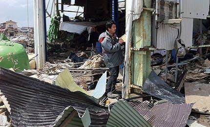 自然災害の被災地域への支援