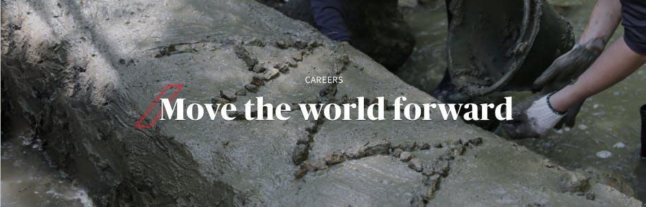 เราร่วมกันทำสิ่งที่ดีให้โลกใบนี้อย่างเต็มความสามารถ เพื่อให้สังคมของเราก้าวไปข้างหน้าได้อย่างมั่นใจ