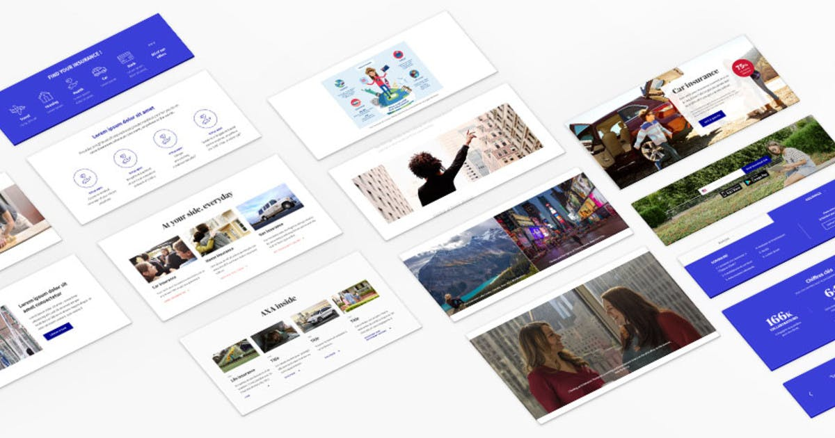 AXA Digital Guidelines and Design System